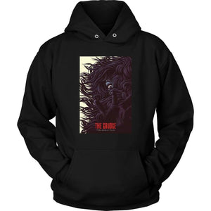 The Grudge Hoodie - Unisex Hoodie / Black / S - T-shirt
