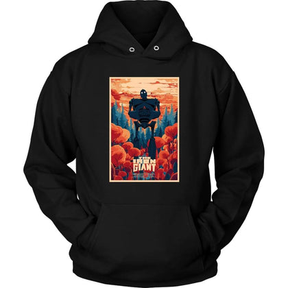 The Iron Giant Hoodie - Unisex Hoodie / Black / S - T-shirt