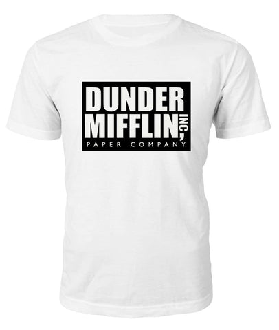 The Office Dunder Mifflin T-Shirt - T-Shirt