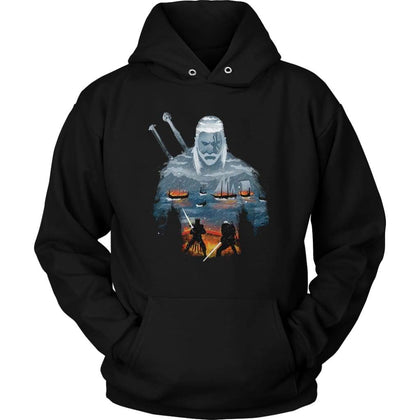 The Witcher 3 Hoodie - Unisex Hoodie / Black / S - T-shirt