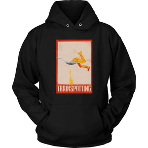 Trainspotting Hoodie - Unisex Hoodie / Black / S - T-shirt