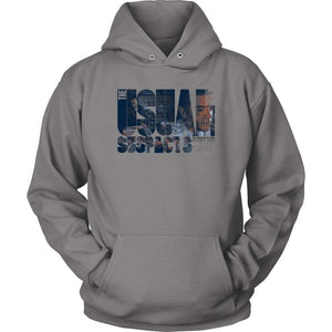 Usual Suspects Hoodie - Unisex Hoodie / Grey / S - T-shirt