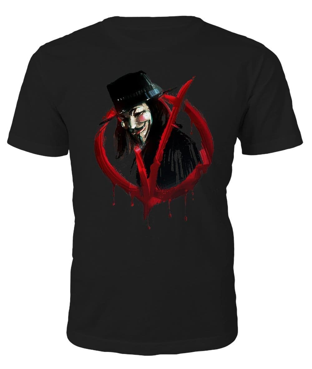 V for Vendetta T-shirt - T-shirt