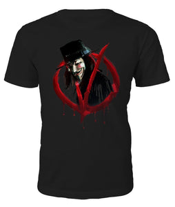 V for Vendetta T-shirt - Camiseta
