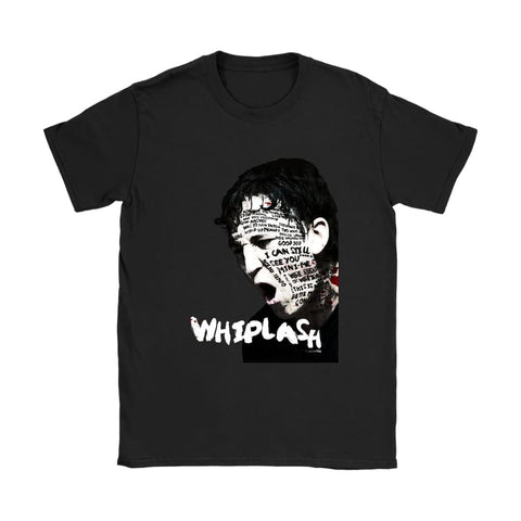 Whiplash Damen T-Shirt - Gildan Damen T-Shirt / Schwarz / S - T-Shirt