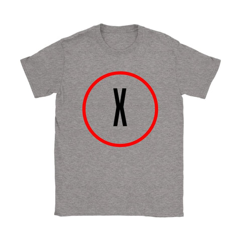 X-Files Women's T-shirt - Gildan Womens T-Shirt / Sport Grey / S - T-shirt