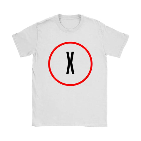 X-Files Women's T-shirt - Gildan Womens T-Shirt / White / S - T-shirt