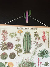 Load image into Gallery viewer, Stained glass cacti suspend.it