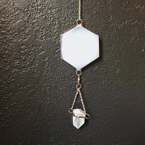 White tones wall hanging