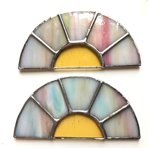Sunrise + Sunset Stained Glass