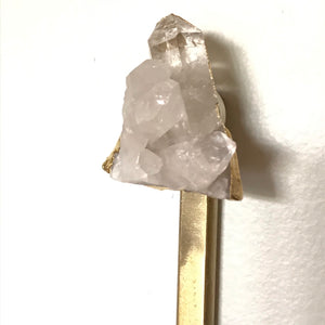 Premium wall hook with crystal suspend.it
