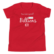 Load image into Gallery viewer, BPC Youth: Think Billions Tee