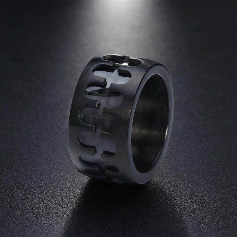 Black Punk Ring