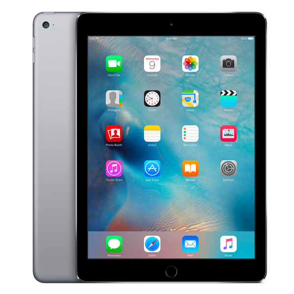 Apple iPad Air 2 rigenerato - 128GB, WI-FI - Grigio siderale