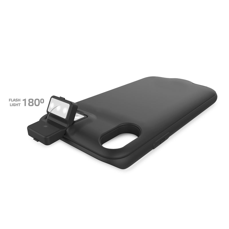Celly - Battery Cover Wirless 3000mAh per iPhone X e XS