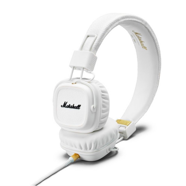 Marshall - Major II White Cuffie on Ear con Remote Control