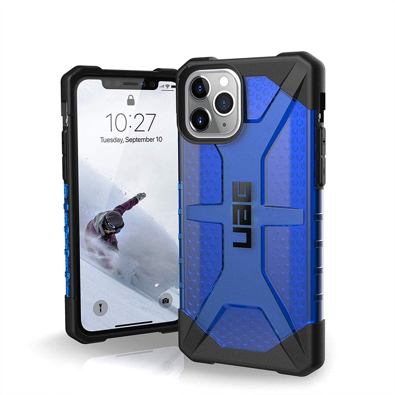 Custodia Cover Case UAG Antiurto Plasma per iPhone 11 Pro Blue