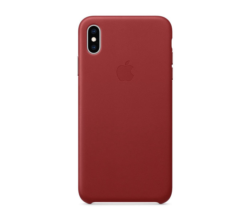 Custodia Cover Case in pelle originale Apple iPhone XS Max - Red