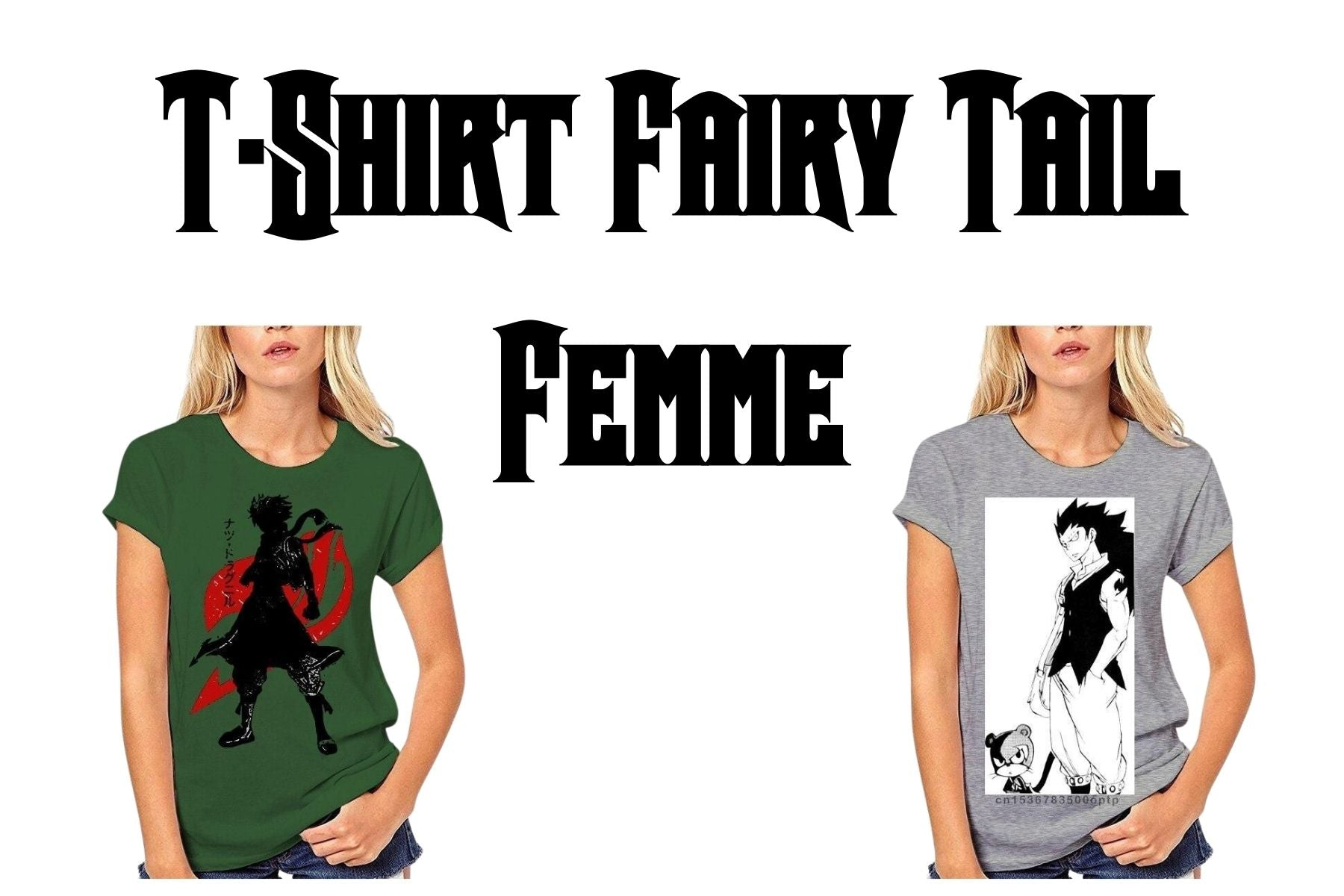 t-shirts fairy tail fille
