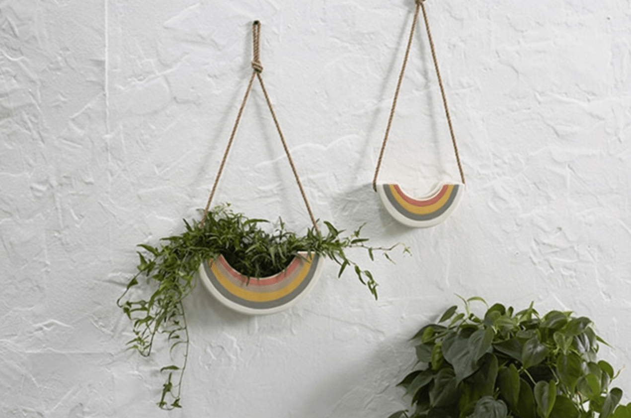 Plant Goals Plant Shop Small Rainbow Hanger
