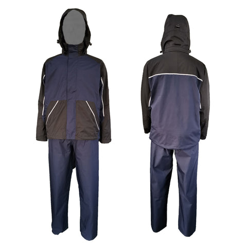 Neilsen® Breathable Rainwear SET CEB Jacket & CET Over Trouser Navy/Black