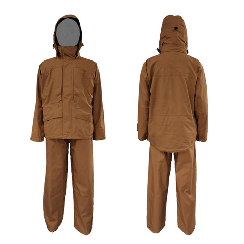 Neilsen® Breathable Rainwear SET CEC Coat & CET Over Trouser Brown