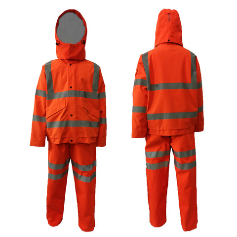 Neilsen® HVB & HVT SET Rainwear High Visibility Bomber Jacket Orange