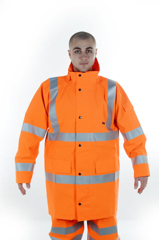 Neilsen® HVC Rainwear High Visibility Coat