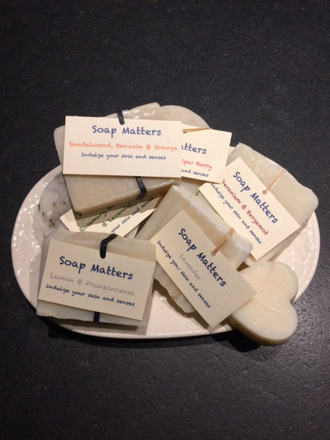 Beautiful natural soap with a fantastic smell