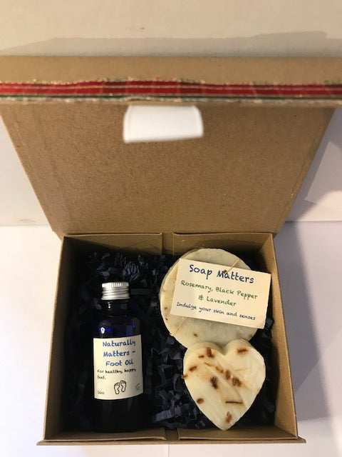 Valentine Gift Box - natural skincare for Him