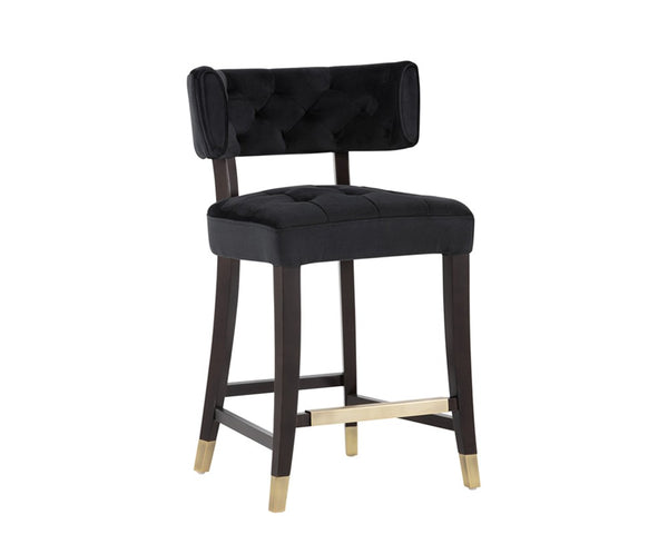 Bella Counter Stool - Black