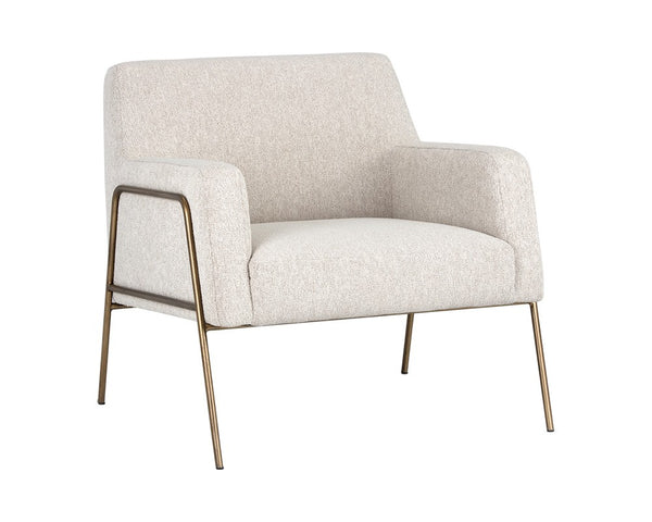 Lauren Lounge Chair - Cream