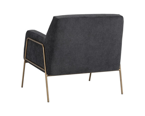 Lauren Lounge Chair - Grey