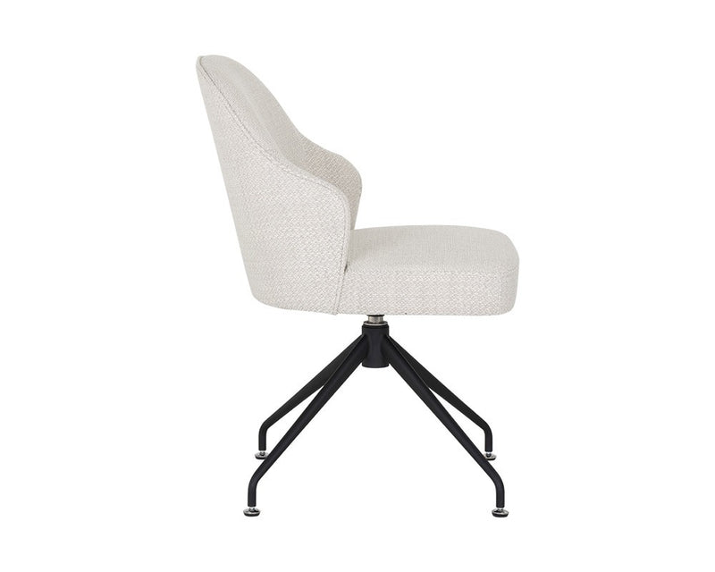 Stilo Swivel Chair - Stucco