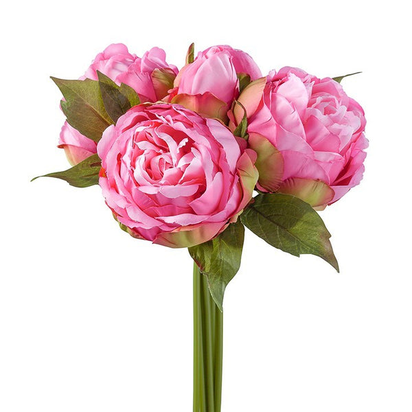Blushing Peony 5 Bloom Bouquet - Pink