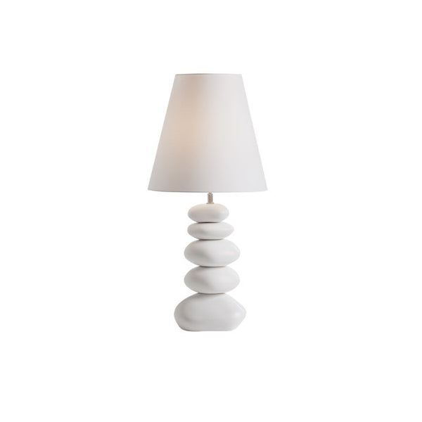 Ceramic Stacked Table Lamp