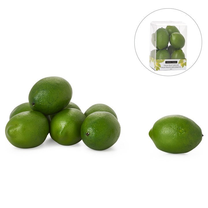 8 Piece Faux Limes Set