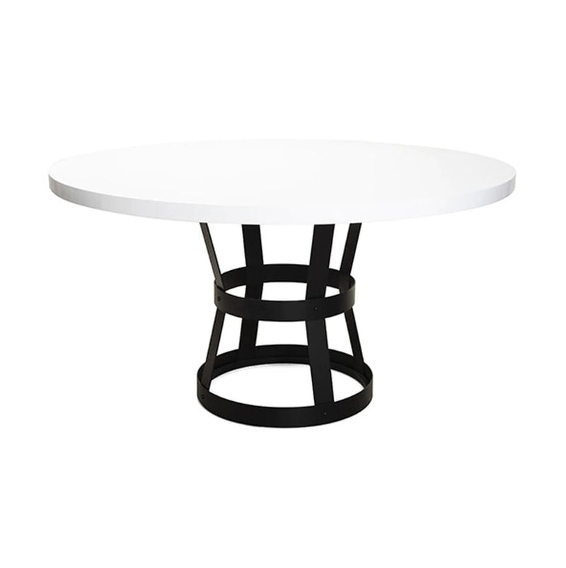 Cannon Dining Table BLWH