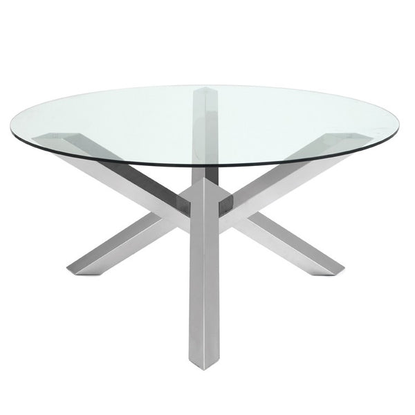 Costa Dining Table Silver