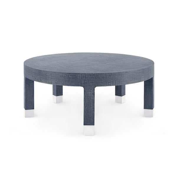 "DAKOTA 40.5"" COFFEE TABLE - NAVY BLUE"