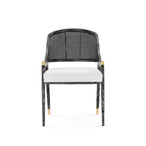EDWARD CHAIR - BLACK