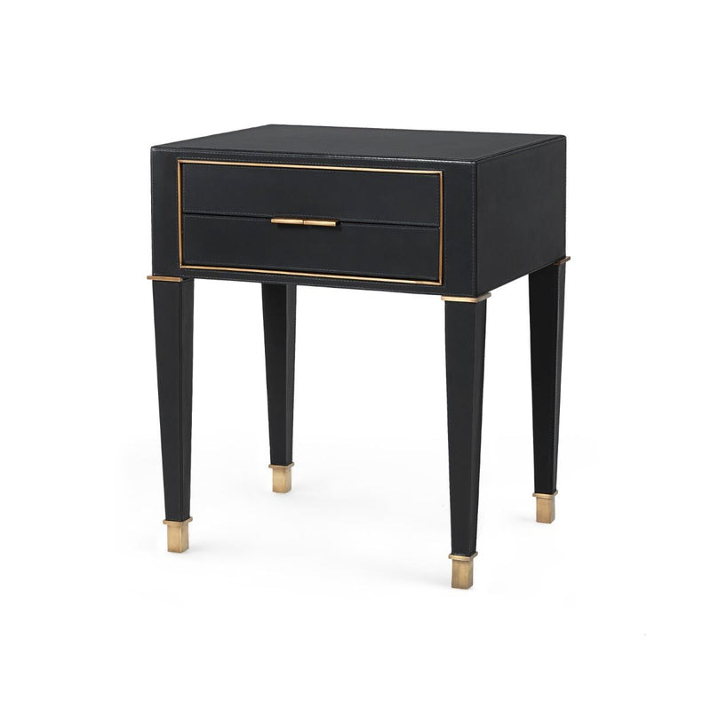HUNTER SIDE TABLE - BLACK