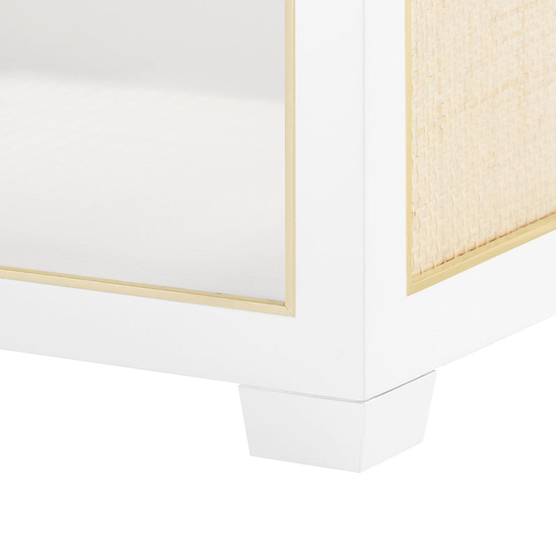 Karen Side Table - White