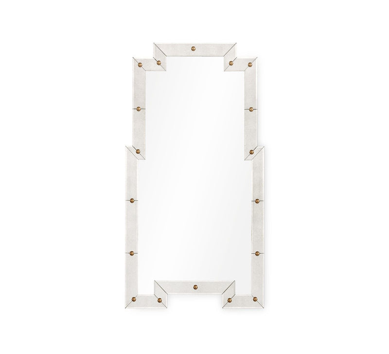LANE LARGE ANTIQUE MIRROR