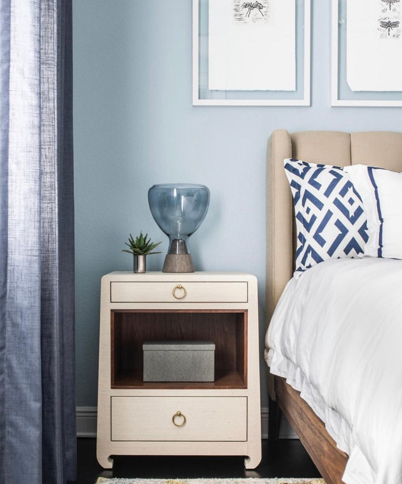 Ming Nightstand - Natural