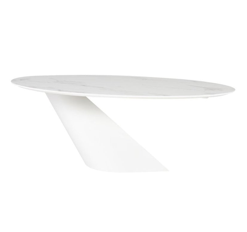 Oblo Dining Table - White