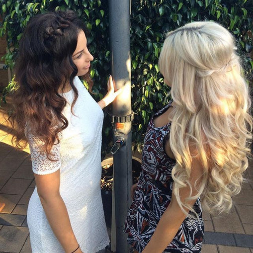 VOLUME SET - 20 Inch Clip In Hair Extensions - Remy Hair - 10 Piece 260g