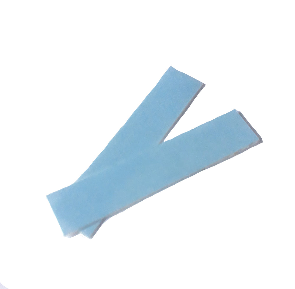 TAPE HAIR EXTENSIONS REPLACEMENT TAPE TABS SAMPLE x 2 PIECES