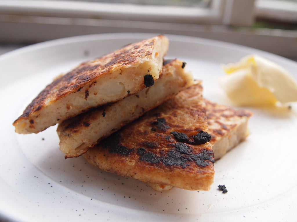 A Recipe: Sourdough Potato Farls