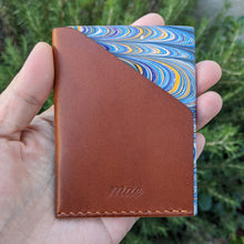 Load image into Gallery viewer, Minimalist Marbled Pocket Wallet